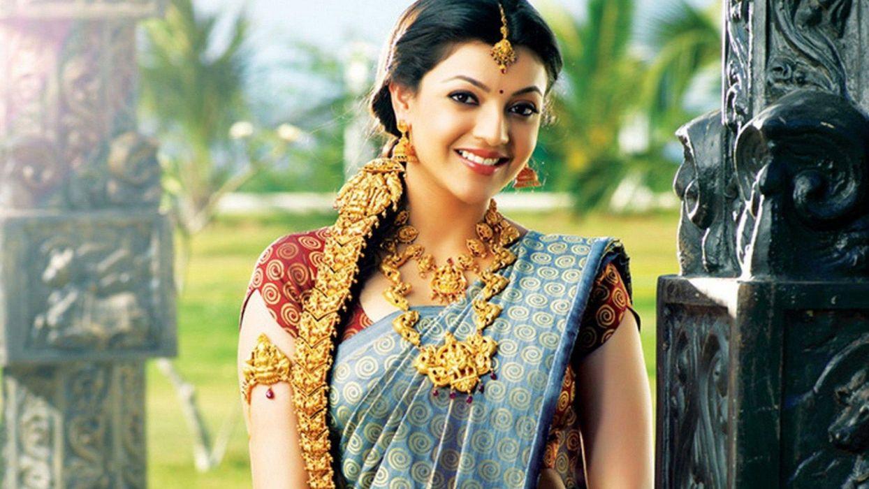 KAJAL AGARWAL indian actress bollywood model babe (19) wallpaper