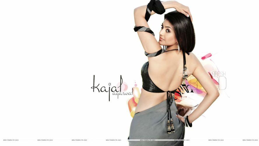 KAJAL AGARWAL indian actress bollywood model babe (14) wallpaper