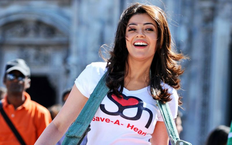 KAJAL AGARWAL indian actress bollywood model babe (6) wallpaper