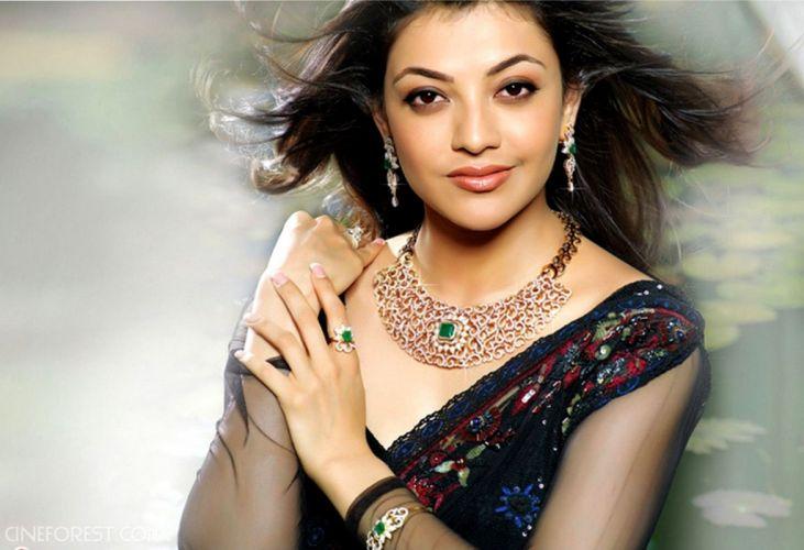 KAJAL AGARWAL indian actress bollywood model babe (42) wallpaper