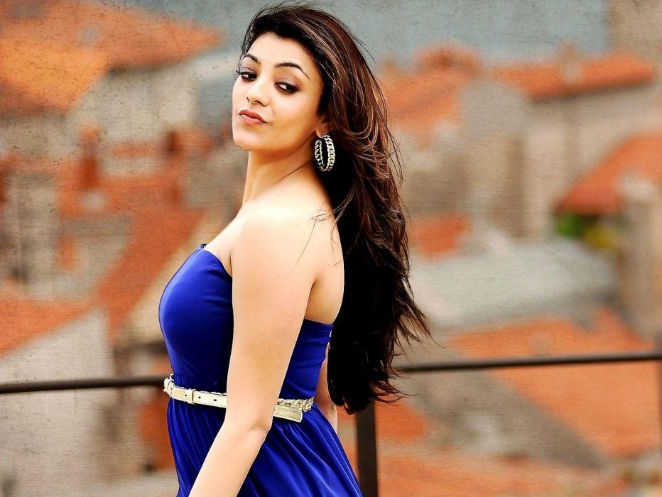 KAJAL AGARWAL indian actress bollywood model babe (41) wallpaper