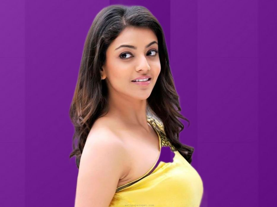 KAJAL AGARWAL indian actress bollywood model babe (31) wallpaper