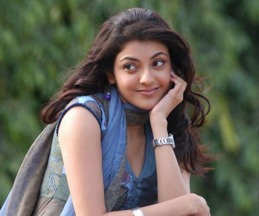 KAJAL AGARWAL indian actress bollywood model babe (27) wallpaper