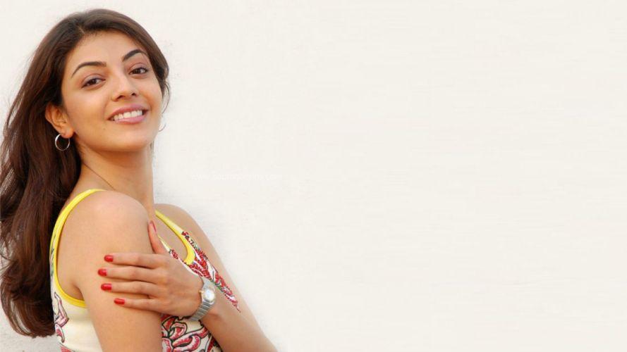 KAJAL AGARWAL indian actress bollywood model babe (23) wallpaper