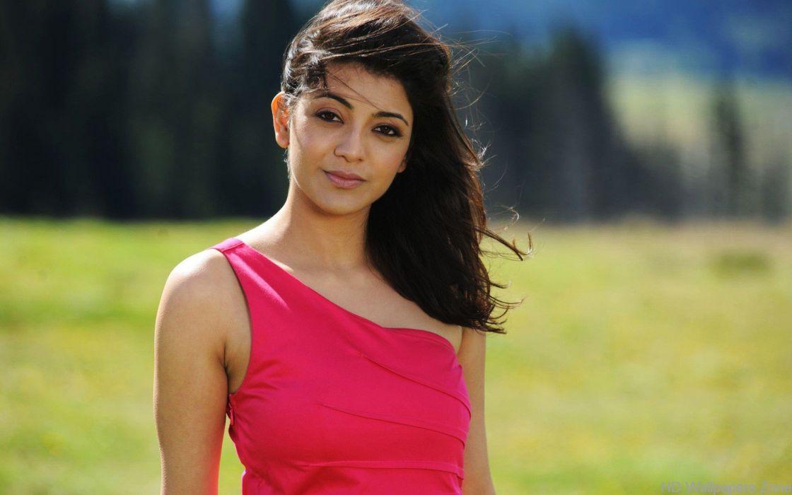 KAJAL AGARWAL indian actress bollywood model babe (25) wallpaper