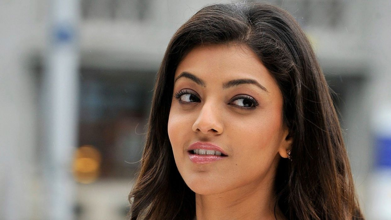 KAJAL AGARWAL indian actress bollywood model babe (63) wallpaper