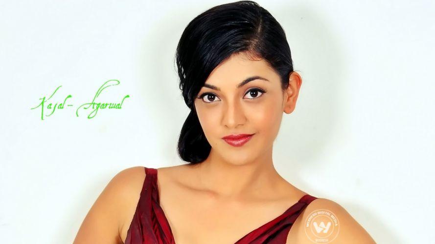 KAJAL AGARWAL indian actress bollywood model babe (51) wallpaper