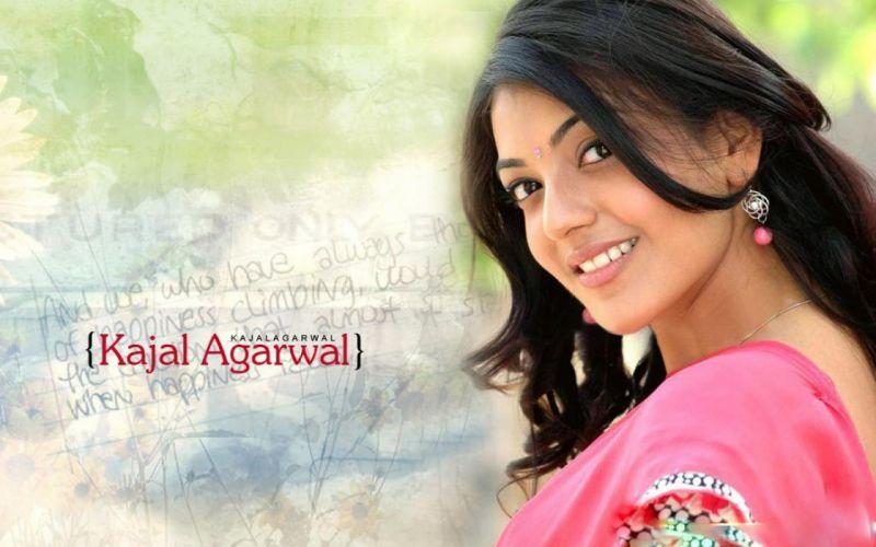 KAJAL AGARWAL indian actress bollywood model babe (46) wallpaper