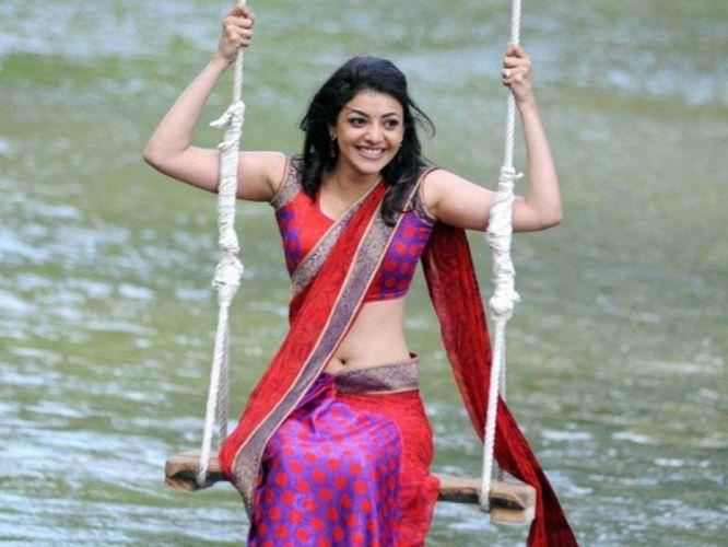 KAJAL AGARWAL indian actress bollywood model babe (75) wallpaper