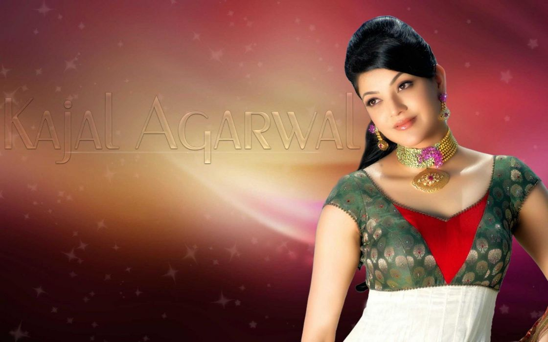 KAJAL AGARWAL indian actress bollywood model babe (73) wallpaper