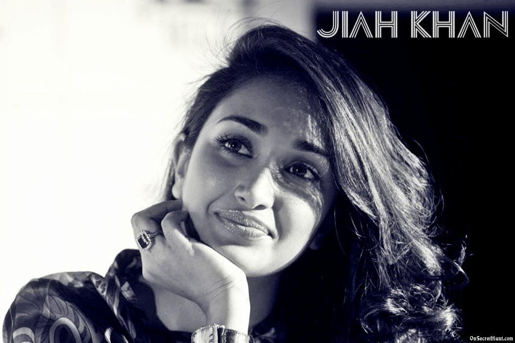 JIAH KHAN indian actress bollywood model babe (9) wallpaper