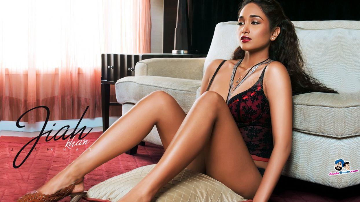 JIAH KHAN indian actress bollywood model babe (15) wallpaper