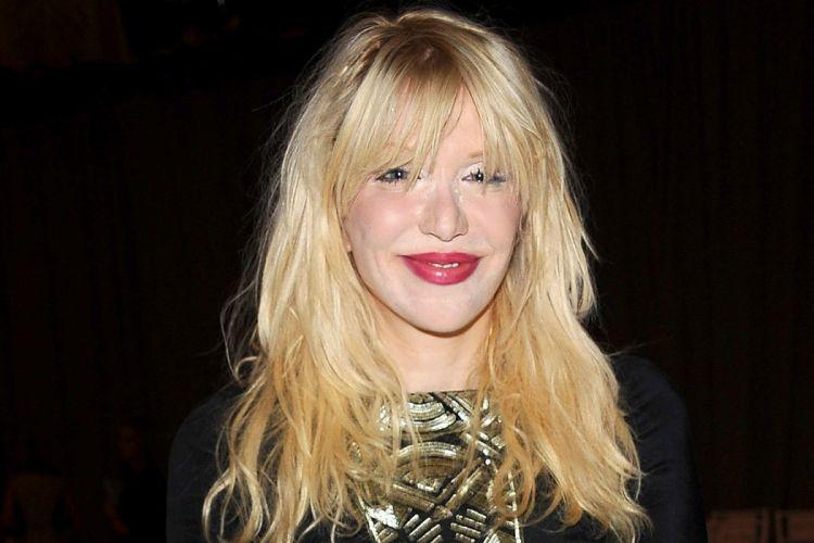 COURTNEY LOVE singer actress model babe hole alternative wallpaper