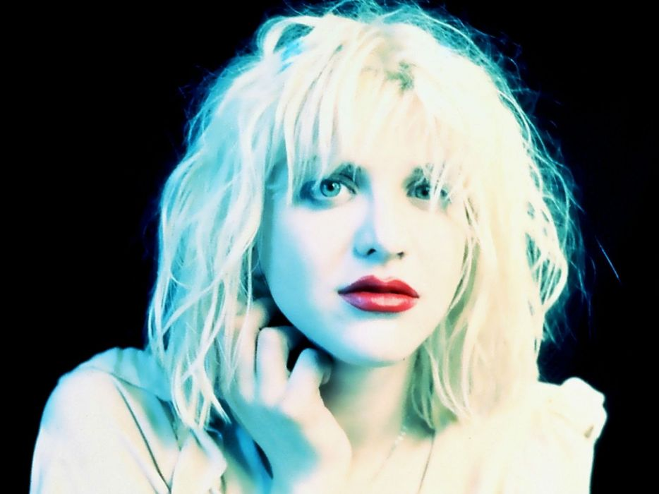 COURTNEY LOVE singer actress model babe hole alternative wallpaper
