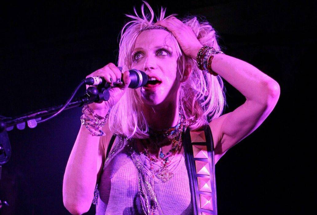 COURTNEY LOVE singer actress model babe hole alternative concert wallpaper