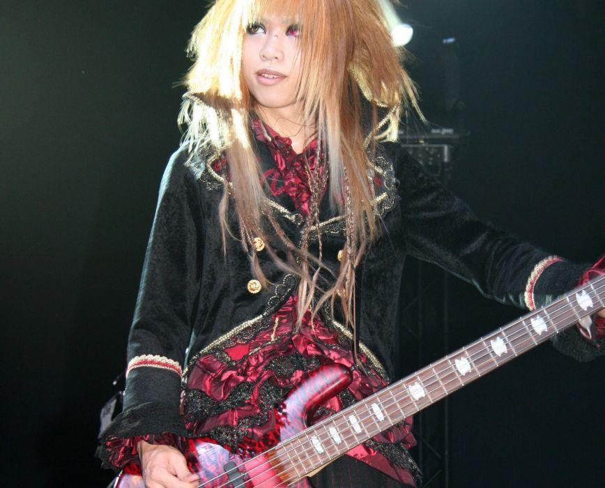 DIO DISTRAUGHT OVERLORD visual kei metal heavy asian japan jrock concert guitar wallpaper