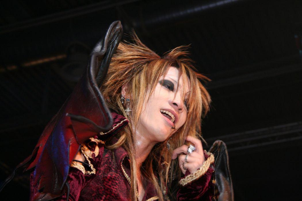 DIO DISTRAUGHT OVERLORD visual kei metal heavy asian japan jrock concert singer wallpaper