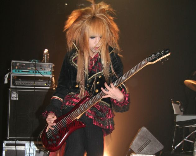 DIO DISTRAUGHT OVERLORD visual kei metal heavy asian japan jrock concert guitar wallpaper