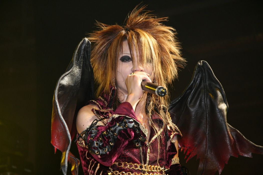DIO DISTRAUGHT OVERLORD visual kei metal heavy asian japan jrock concert singer wallpaper