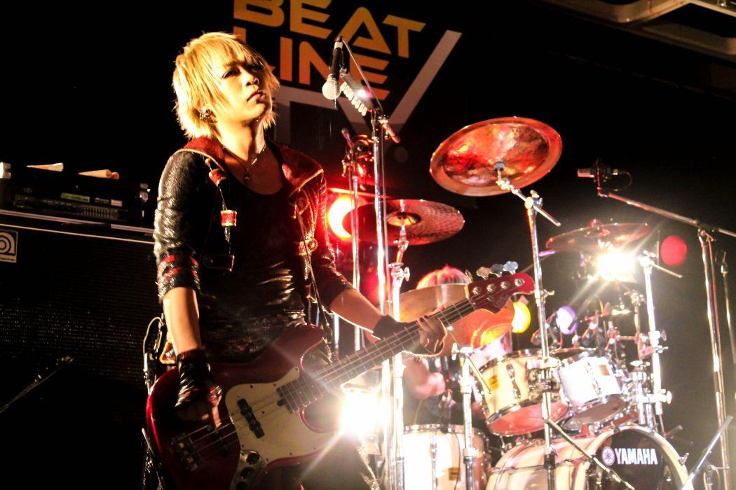 DUELJEWEL visual kei rock jrock concert drums wallpaper