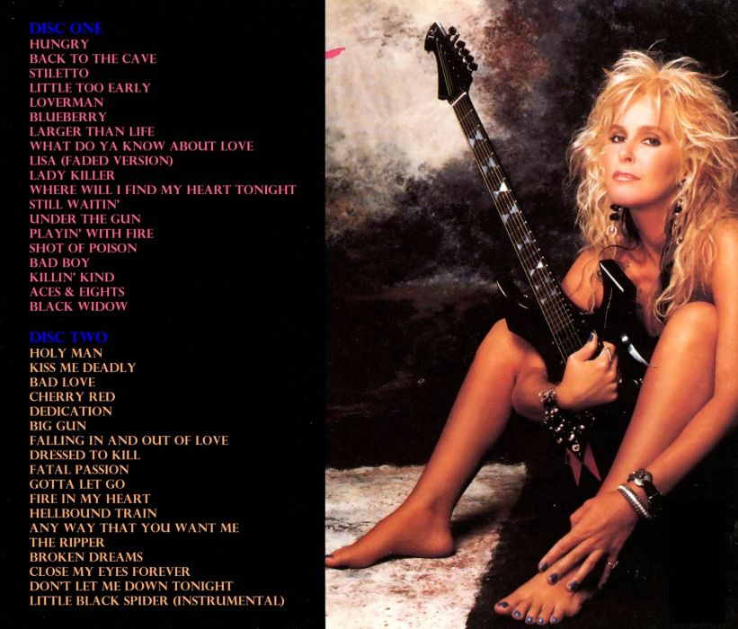 LITA FORD heavy metal hard rock babe sexy poster guitar wallpaper