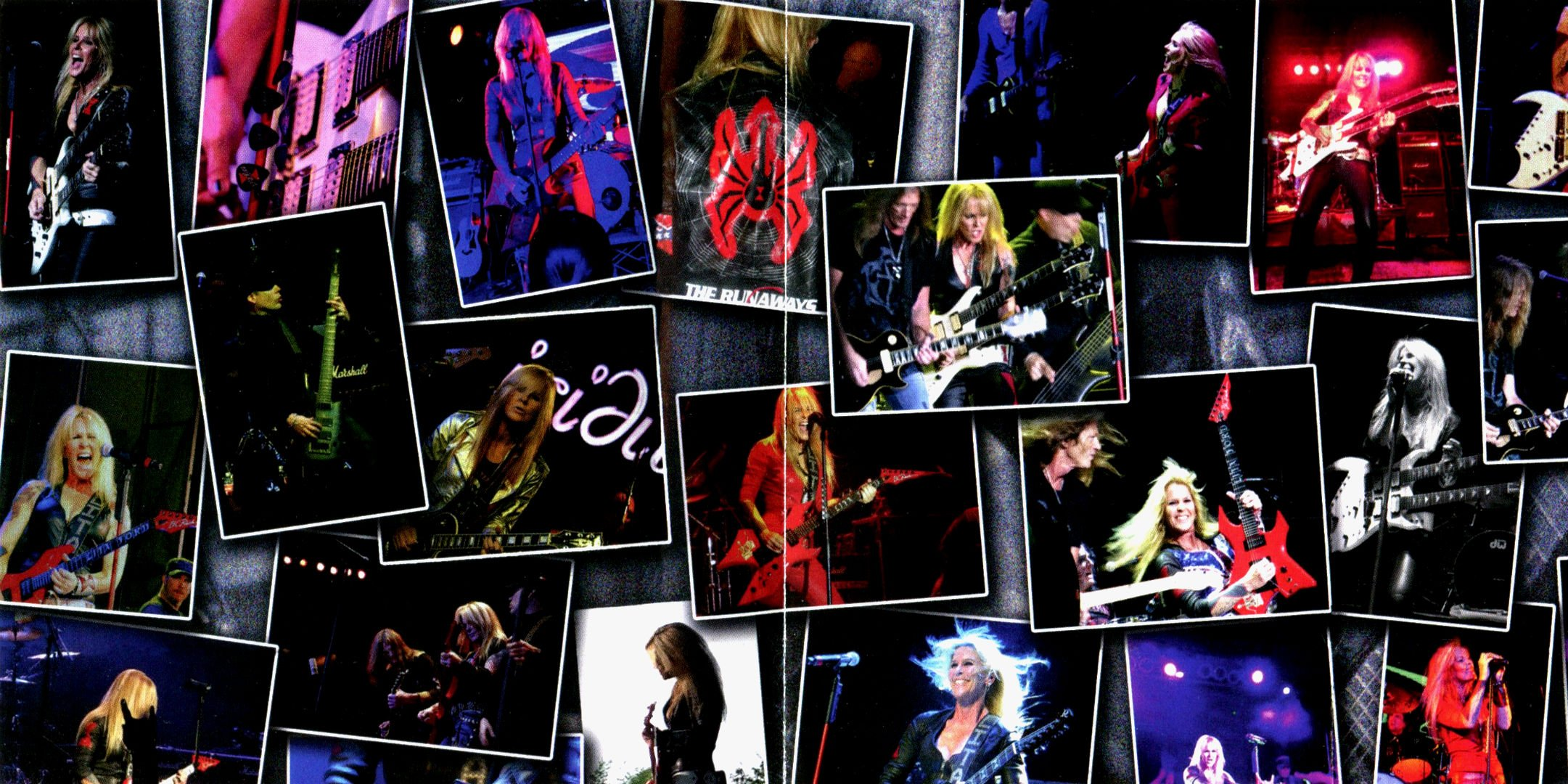 LITA FORD Heavy Metal Hard Rock Babe Poster Concert Collage Wallpaper