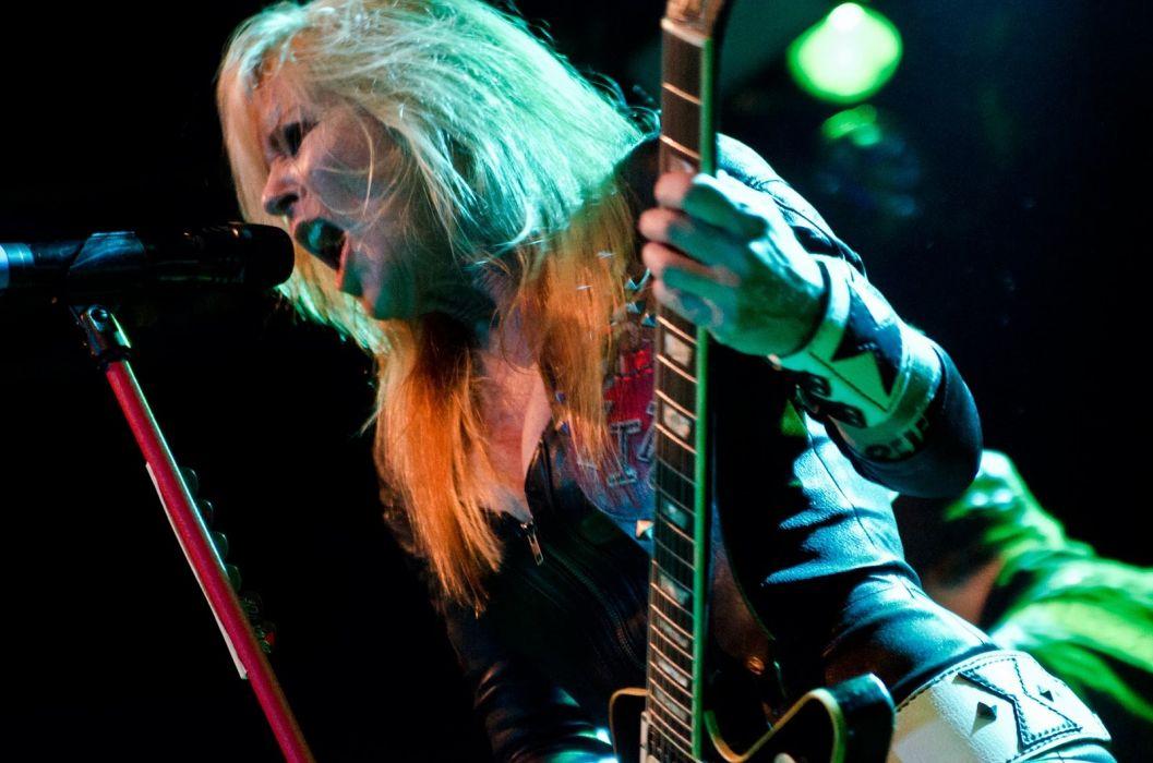 LITA FORD heavy metal hard rock babe concert guitar singer wallpaper