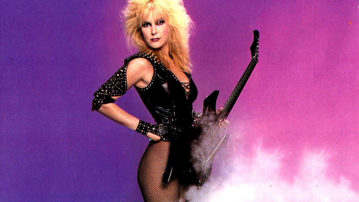 LITA FORD heavy metal hard rock babe sexy guitar wallpaper