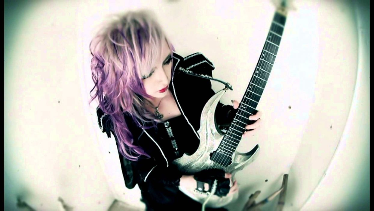 MEJIBRAY visual kei metal heavy hard rock jrock poster guitar wallpaper
