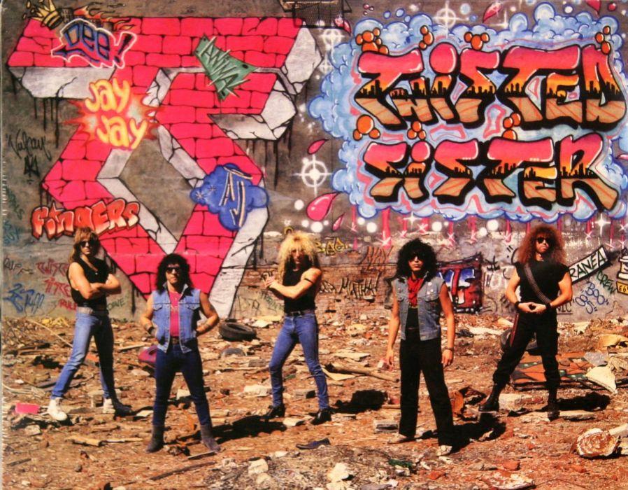 TWISTED SISTER hair metal heavy hard rock poster wallpaper
