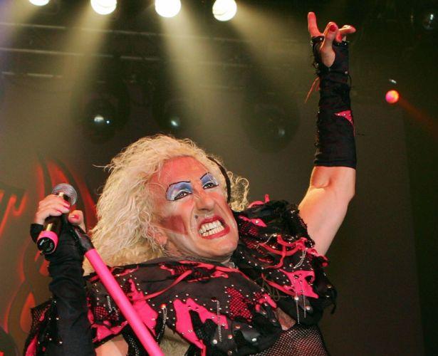 TWISTED SISTER hair metal heavy hard rock concert singer wallpaper