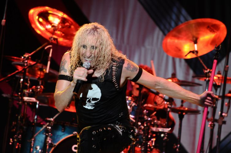 TWISTED SISTER hair metal heavy hard rock concert singer drums wallpaper