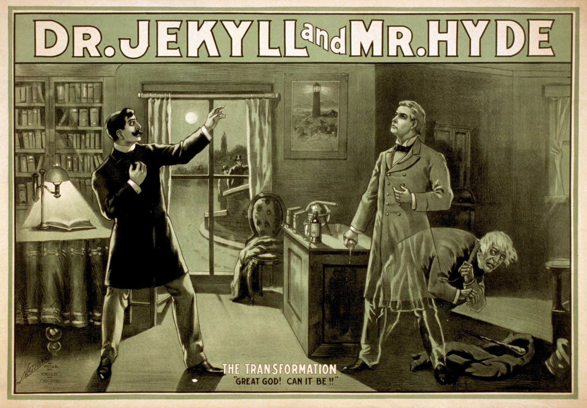is jekyll and hyde just a gothic horror essay When utterson takes the inspector to hyde's address, he, of course, takes him to the address in soho, not to dr jekyll's back door there, they are met by hyde's housekeeper, a woman with an evil face, smoothed by hypocrisy.
