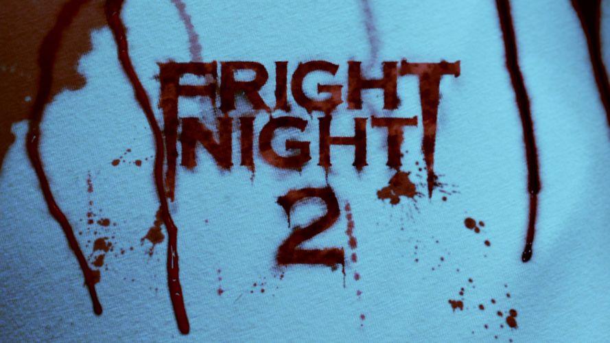 FRIGHT NIGHT comedy horror dark movie film poster blood wallpaper