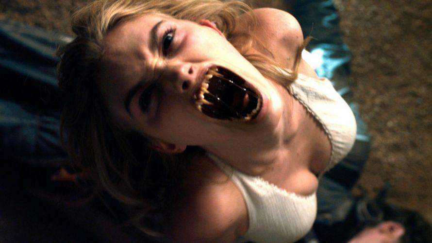 FRIGHT NIGHT comedy horror dark movie film vampire sexy babe wallpaper