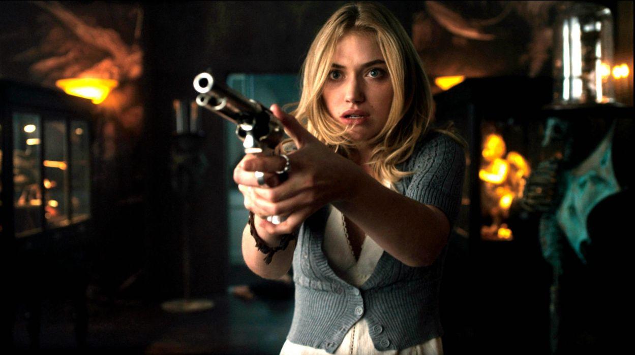 FRIGHT NIGHT comedy horror dark movie film weapon gun  wallpaper