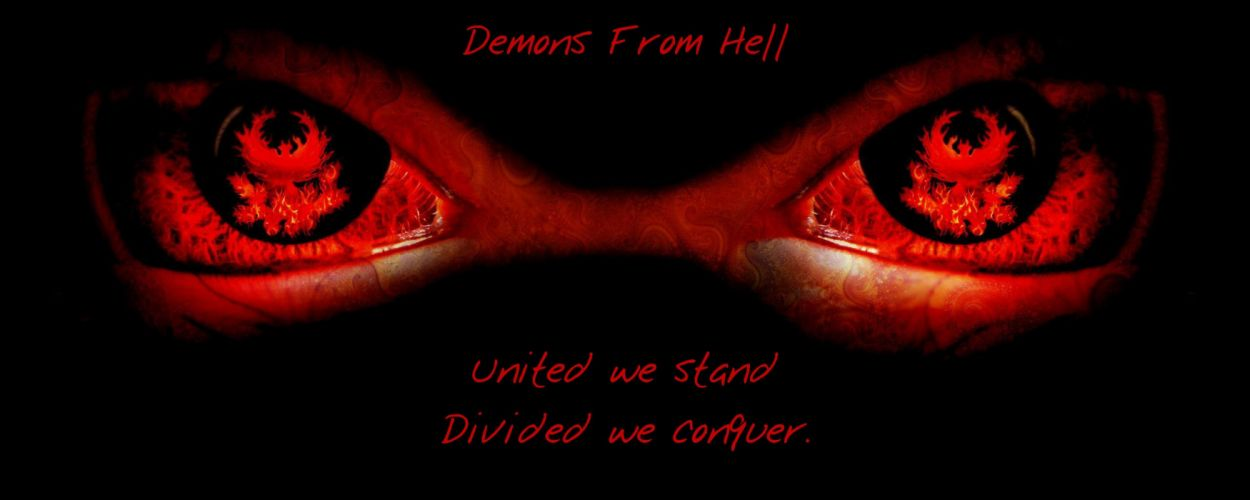 demon satanic satan occult evil poster wallpaper