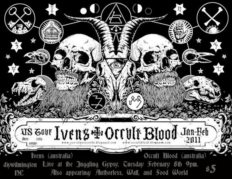 occult satanic satan evil poster skull wallpaper