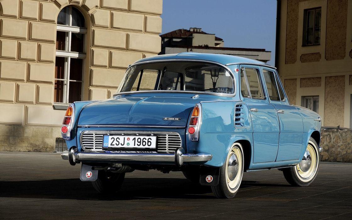 1964-1969-Skoda-1000-MB-Blue-Static-2-2560x1600 wallpaper