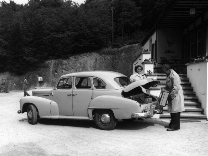 1951-53 Opel Kapitan retro h wallpaper