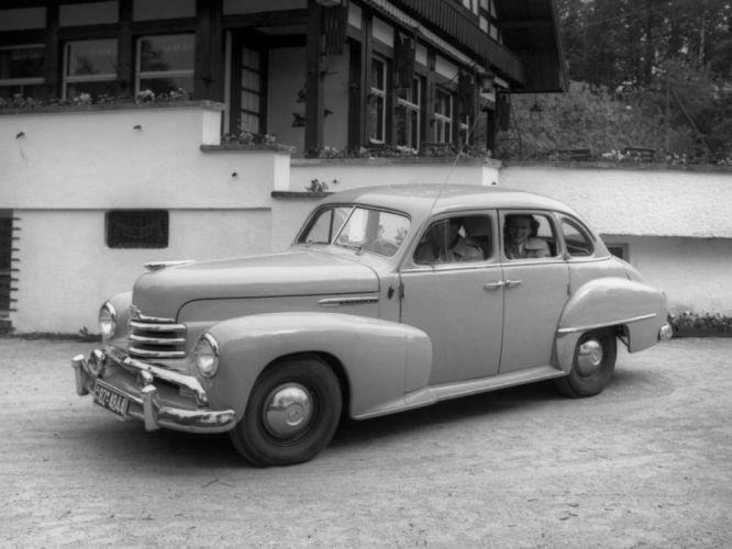 1951-53 Opel Kapitan retro hj wallpaper