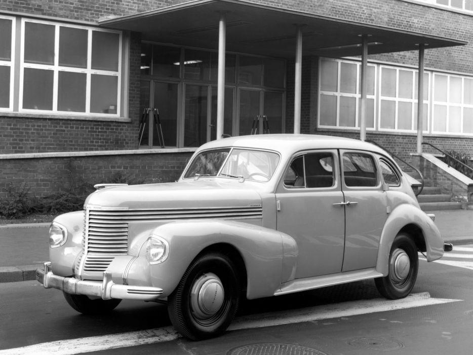1939 Opel Kapitan retro r wallpaper