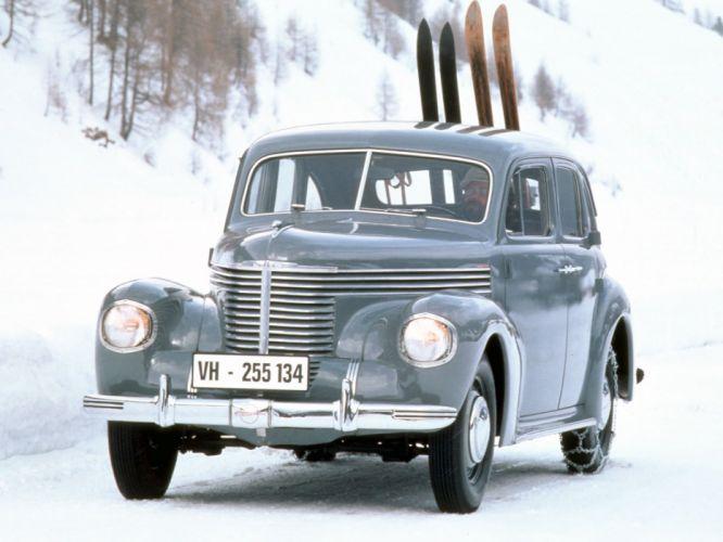 1939 Opel Kapitan retro d wallpaper