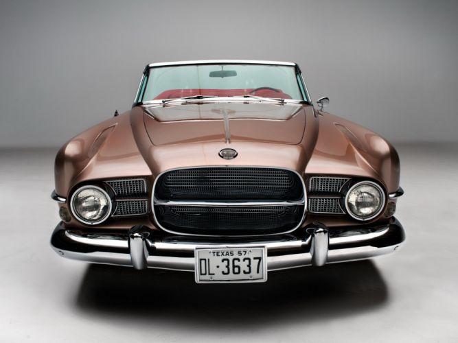 1958 Dual Ghia Convertible luxury retro 1711 gd wallpaper