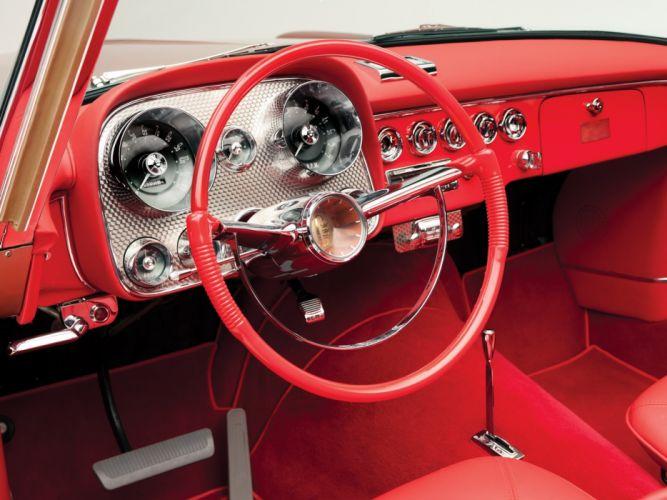 1958 Dual Ghia Convertible luxury retro 1711 interior g wallpaper
