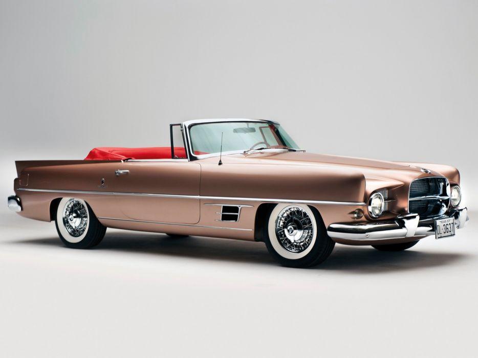 1958 Dual Ghia Convertible luxury retro 1711   b wallpaper