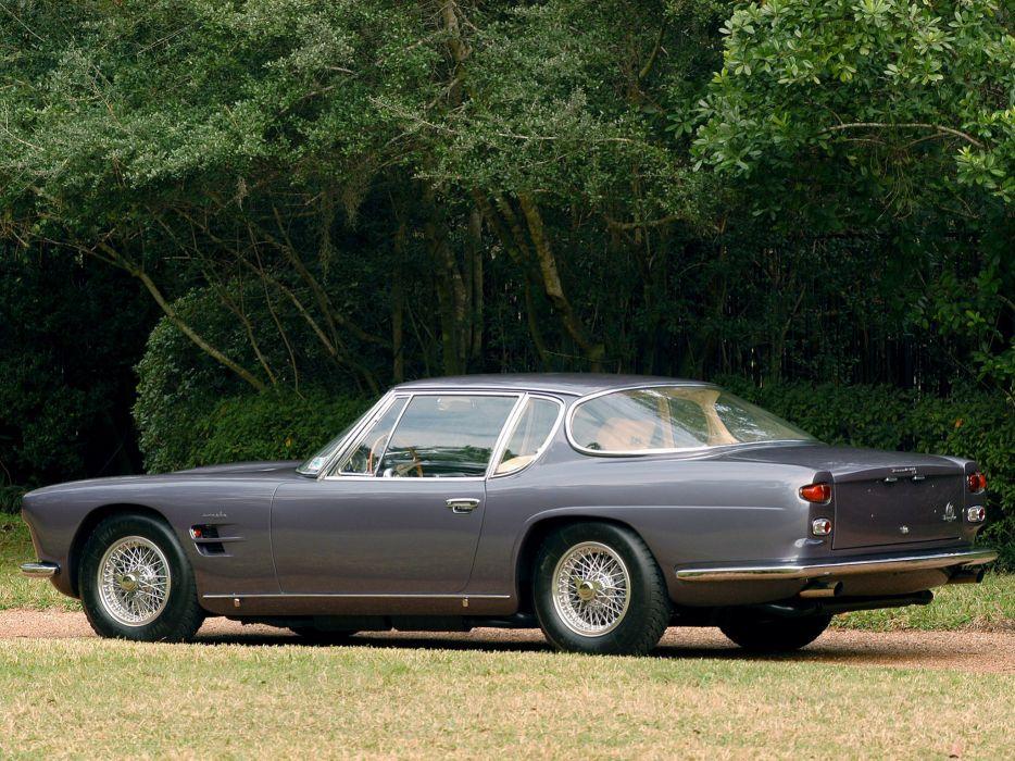 1962-64 Maserati 5000 G-T Frua Coupe supercar classic      f wallpaper