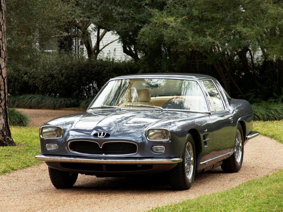 1962-64 Maserati 5000 G-T Frua Coupe supercar classic   r wallpaper