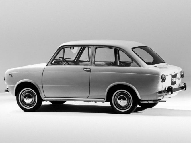 1964 Fiat 850 classic f wallpaper