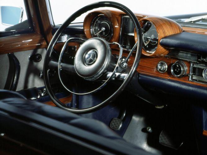 1964-81 Mercedes Benz 600 W100 luxury interior p wallpaper